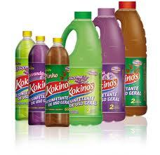 Produtos químicos para casa (lavar, limpar)