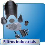 Filtros industriais.