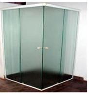 Box de vidro .
