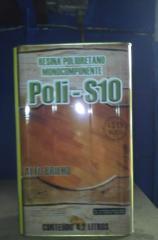 Resina poliuretana mono-componente poli s-10