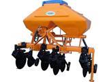 Máquinas agricolas para preparação do solo.