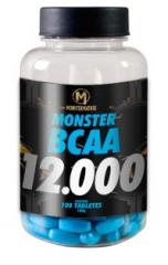 BCAA 12.000 MONSTER MATRIX 100 tabletes.