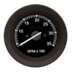 Tacômetro (RPM)