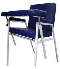 Cadeira para Coleta Estofada