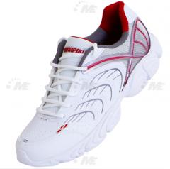 Tênis Olympikus Spring Branco e Vermelho.