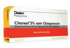 Dentsply - citanest 3 com octapressin cloridrato