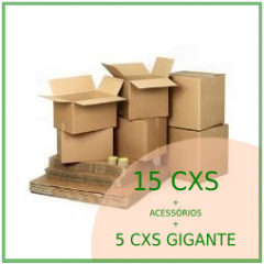 KIT MUDANÇA 4 Quartos + Gigante.