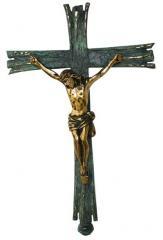 Cruz Paroquial 147 c/ Pátina Verde