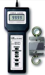 Célula de carga e dinamômetro: Lutron FG-100 Kg -