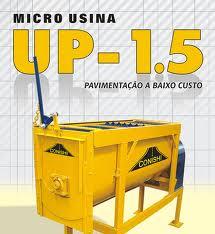 Micro Usina Estacionária de Asfalto