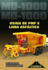 Usina Móvel de Asfalto e Lama Asfaltica – MD 1000