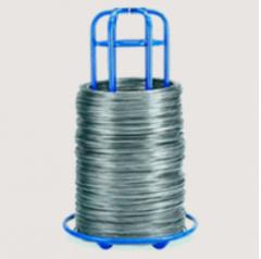 O Arame Atc claro e galvanizado é produzido em aço