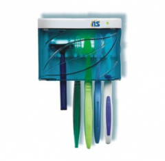 Higienizador para 4 escovas e 1 barbeador .