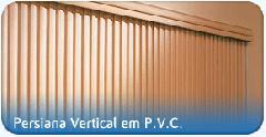 Cortina em PVC para ambientes interiores