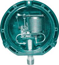 Manometros para industria de baixa pressão com