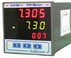 Indicador Controlador de pH e ORP