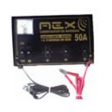 Carregador de bateria de A.E.X 50amp vem