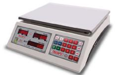 Balança computadorizada com cálculo