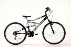 Bike 26 Full Susp.Special Preto/Prata