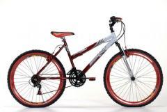 Bike 26 Fem.Lady MAX c/m. Vermelha/Bic