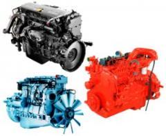 Motores novos para caminhões e ônibus.