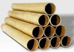Tubos em aço galvanizado.