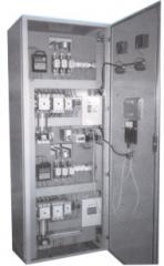Painéis (comando elétrico compensado para bombas