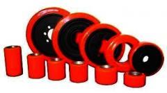 Rodas Poliuretano Performance Special - Vermelho