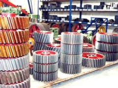 Peças de reposição para a indústria cerâmica.