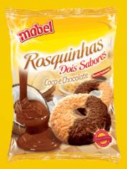 Rosca Dois Sabores Coco e Chocolate