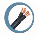 Cabelflex controle  -  utilizados em instalações