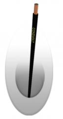 Cabo flexível 105°C 750V NBR91 17 -  para ligação