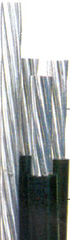 Cabos de alumínio isolados para distribuição de