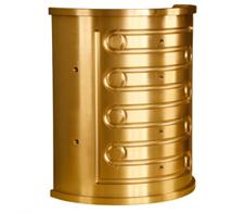 Capas de  bronze TM 23 - uma liga exclusiva com