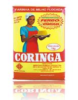 Farinha de milho flocada Coringa  - um alimento de