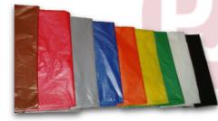 Saco para lixo - saco plástico para