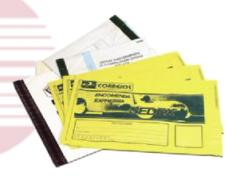 Envelopes de segurança - polietileno coextrudado,