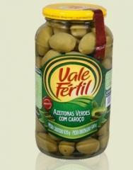 Azeitonas Verdes com Caroço Arauco - 500g