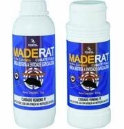 Raticida Maderat Pó de Contato