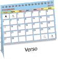 Calendário de Mesa modelo Plastificado