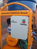 Gerador de espuma para concreto celular.