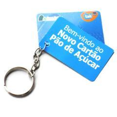 Chaveiro Mini Card - silk
