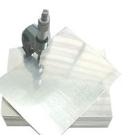 Chapas laminadas de alumínio - podem ser aplicadas