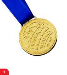 Medalhas em relevo