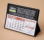 Calendario de mesa PVC