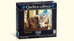 Puzzle 500 peças Amizade Animal