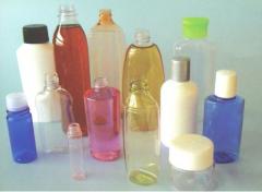Frascos - grande parte dos frascos produzidos pela