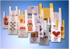 Sacolas plásticas em polietileno, diversos