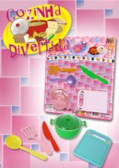 Cozinha divertida rosa
