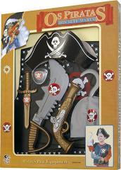 Uniforme completo de Fantasia de Pirata